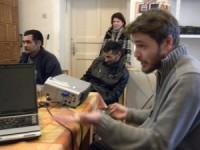 Profilantrop Egyesület - Mester Attila tart tájékoztatót a résztvevőknek To